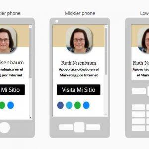 איך לבנות כרטיס ביקור דיגיטלי עם וורדפרס